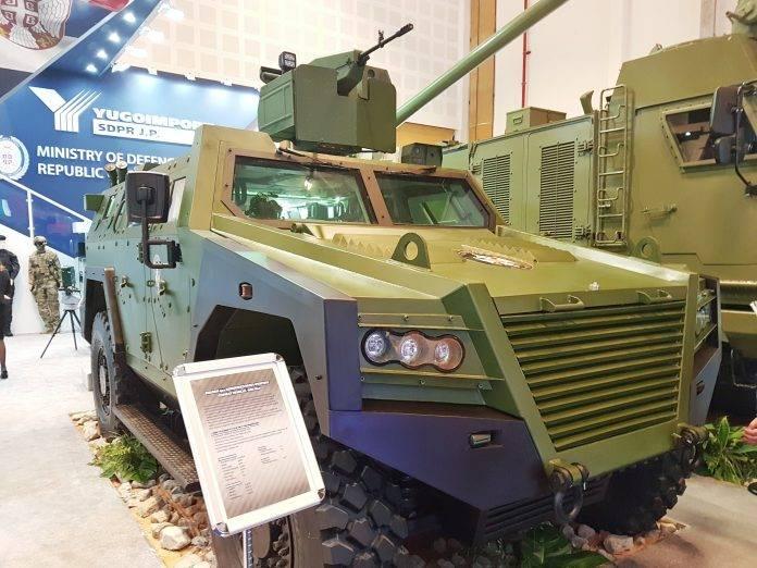 Armored BOV M16 Miloš (Sérvia)