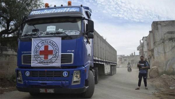 Militantes saquearam a Cruz Vermelha e o Crescente Gomkonvoy na Síria