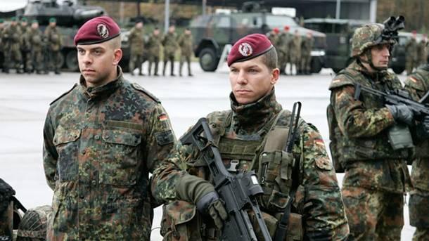 Alemanha aumenta o número de forças armadas