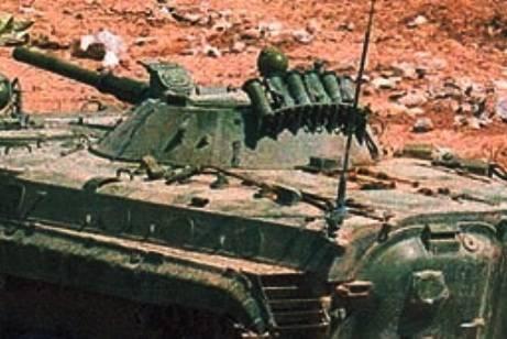 Na Síria, apareceu BMP-1P