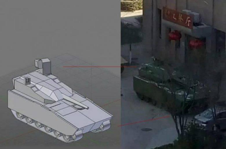 В Китае создана тяжёлая БМП