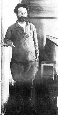 "A guerra civil nos países bálticos. ""Bolo de Camada"" 1919 G. CH. 2."