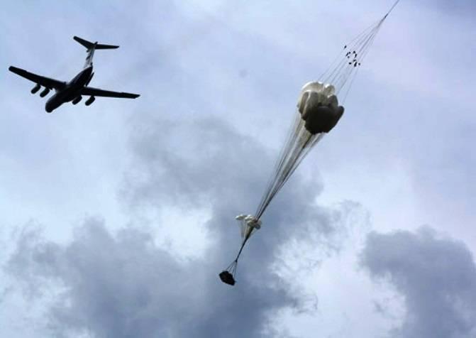 Новые парашюты для десантирования «КамАЗов»