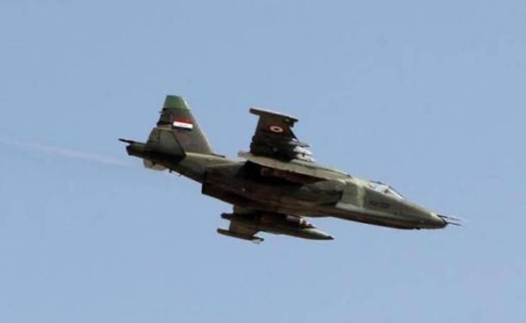 L'aeronautica irachena colpisce posizioni terroristiche in Siria