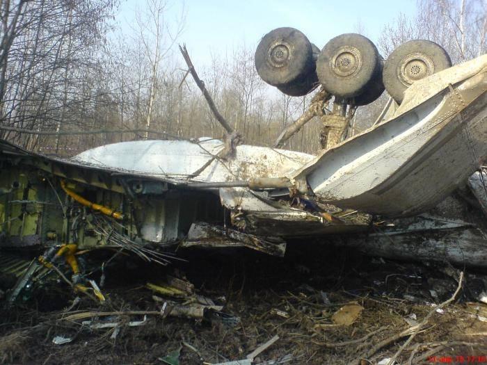 Британия будет искать взрывчатые вещества на самолете Качинского