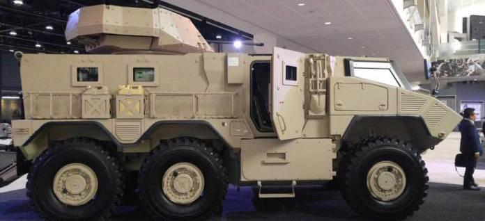 В войска ОАЭ поступят новые бронеавтомобили