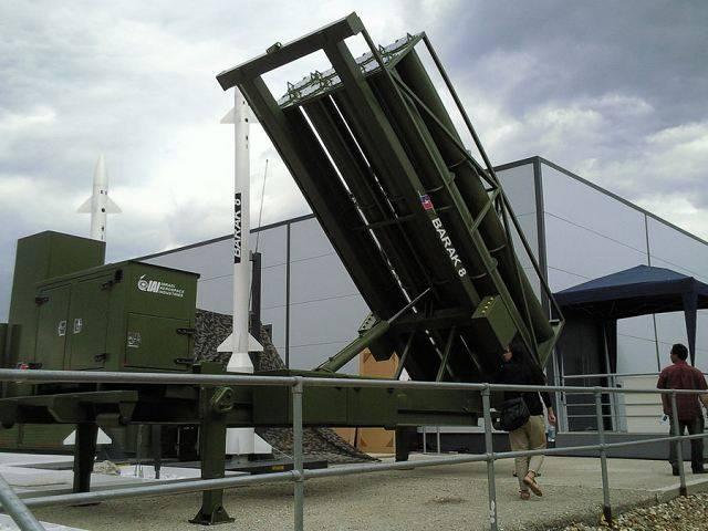 Израиль продает Индии ракеты и системы Barak-8 за 2,5 млрд. долл.