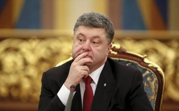 Poroschenko sagte, er würde die Krim nicht verlassen ...