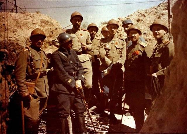 Русские войска на союзных фронтах