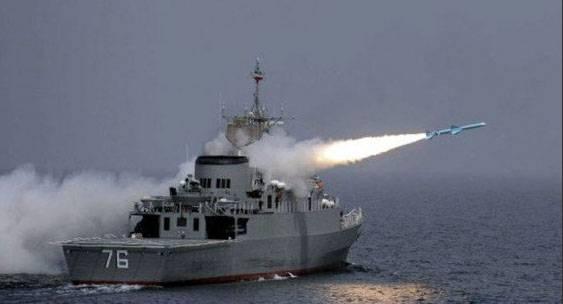 Principales ejercicios de la armada iraní en el estrecho de Ormuz