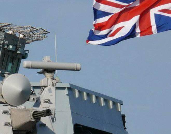 """Os planos da Grã-Bretanha para construir uma flotilha de fragatas de foguetes chamada """"besteira"""""""