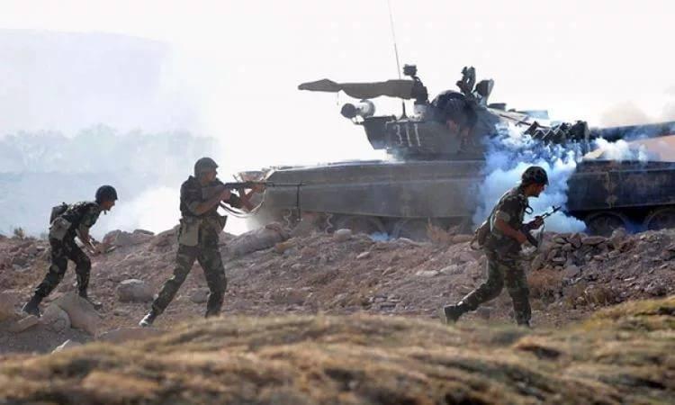 Возобновление боевых действий в Нагорном Карабахе