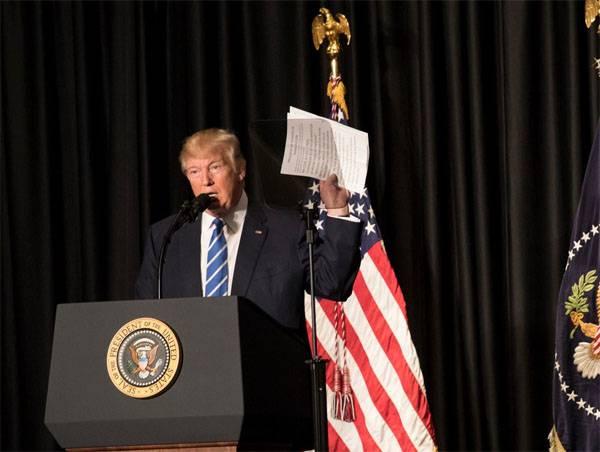 """Trump erklärte das Wachstum des US-Militärbudgets für die Notwendigkeit, """"den Krieg wieder zu gewinnen"""""""