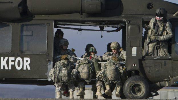 A Rússia reagiu fortemente à iniciativa de criar um exército do Kosovo