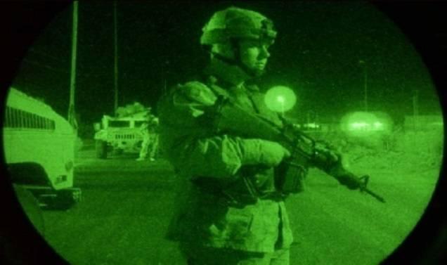 Nos EUA, foi desenvolvido um dispositivo de visão noturna que transmite uma imagem colorida.