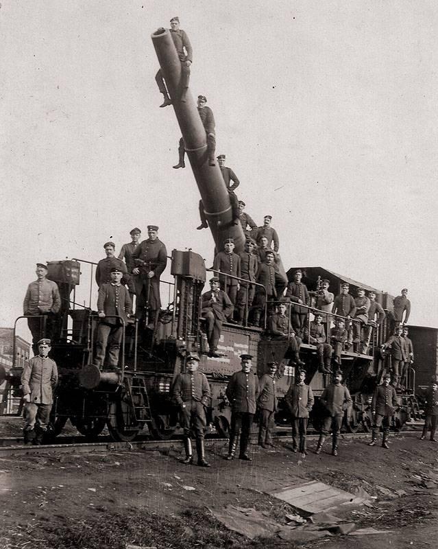 24 cm SK L / 40 Theodor Karl e 24 cm SK L / 30 implementos ferroviários Theodor Otto (Alemanha)