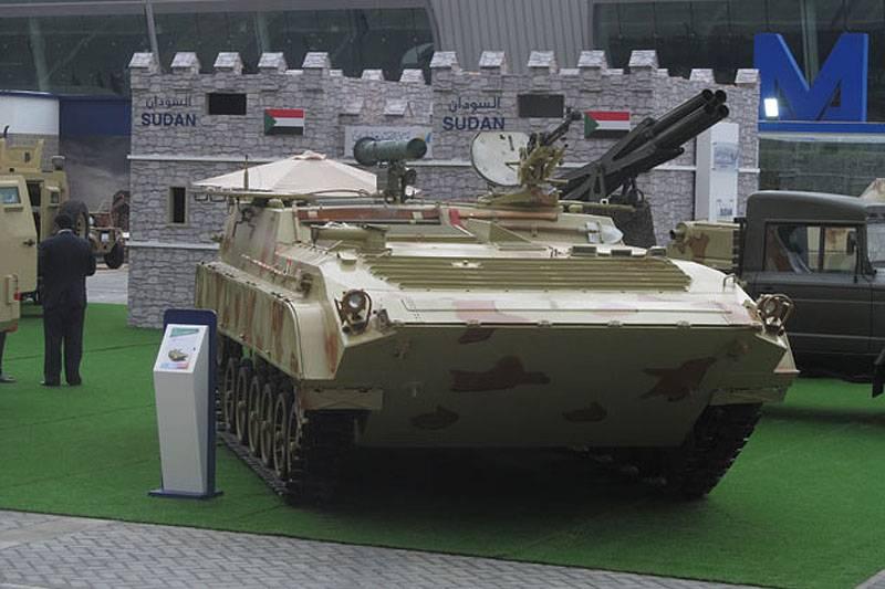 IDEX 2017: Судан представил модернизированную бронетехнику
