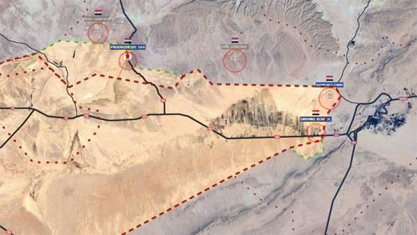 Сирийская армия прорвала оборону боевиков под Пальмирой