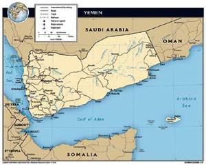 Yemen che si attacca