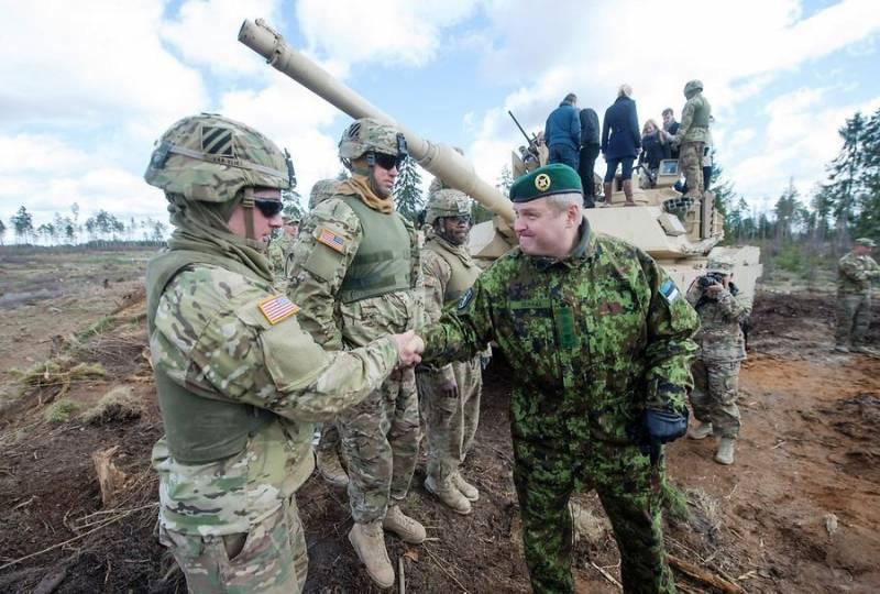 В Эстонию направляется пехотная рота бронетанкового полка армии США