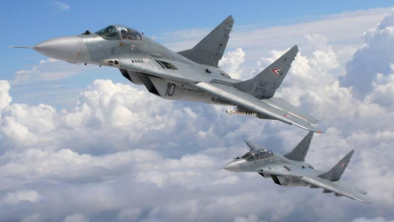 Российские МиГ-29 будут переданы ВВС Сербии до конца года