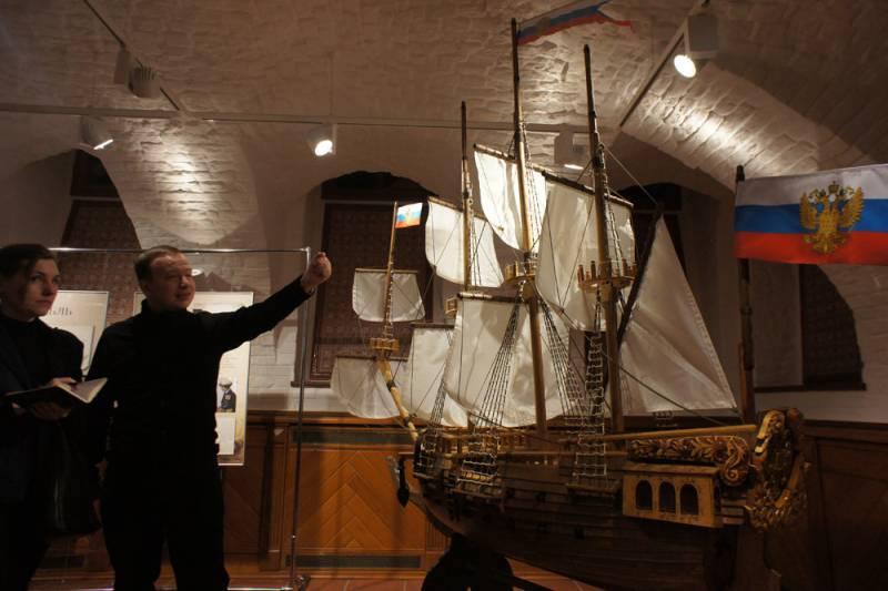Российскому кораблестроению 350 лет