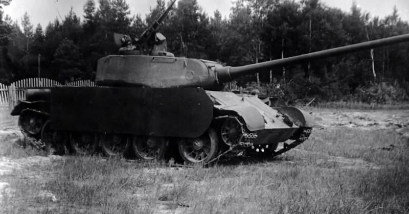 Средний танк Т-44-100, характеристики и описание