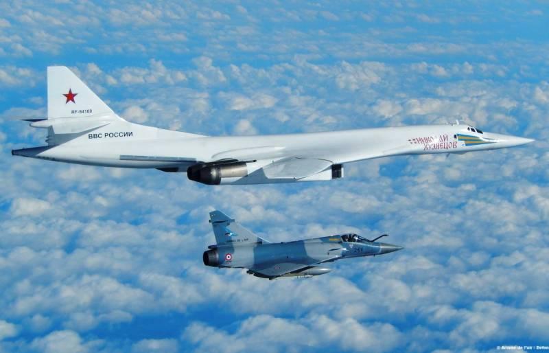 Французам показалось, что пролетавшие мимо «Белые лебеди» настроены враждебно