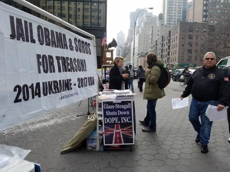Активисты в США и ФРГ обвинили в украинском кризисе администрацию Обамы