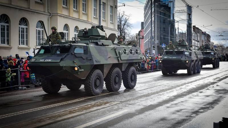 Военный парад в Таллине