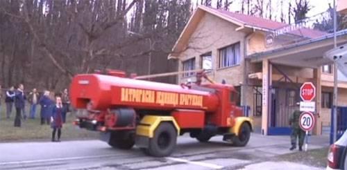 Explosões em uma fábrica militar no sérvio Kragujevac
