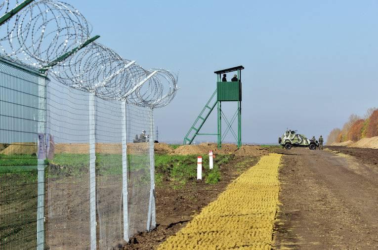 Gerashchenko encontrou um novo uso para a cerca na fronteira com a Federação Russa