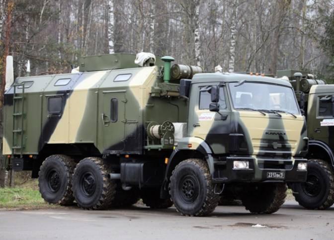 Росгвардия получила партию  командно-штабных машин