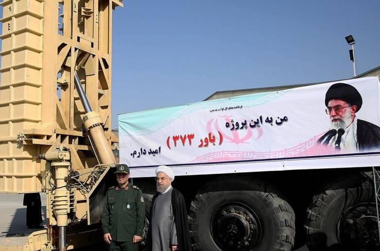 В Иране проводятся испытания отечественного зенитного комплекса