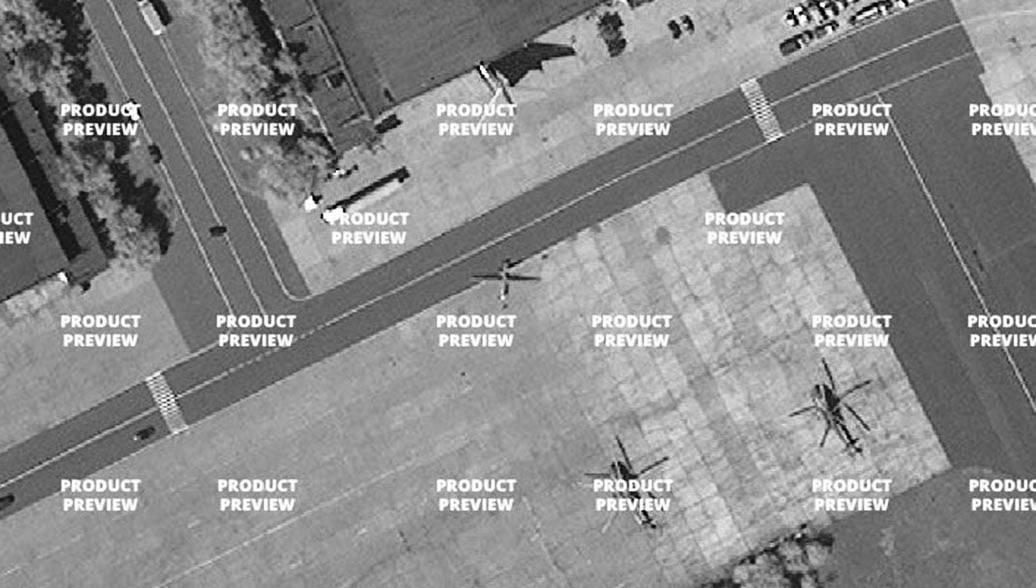 Новый русский дрон впервый раз попал наспутниковые кадры