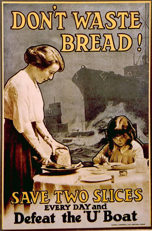 Wie haben die Briten in den Kriegsjahren zum Sparen aufgerufen?