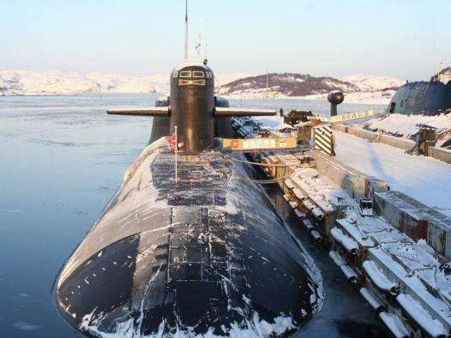 """Das U-Boot """"Tula"""" zog sich aus der Slipanlage zurück"""