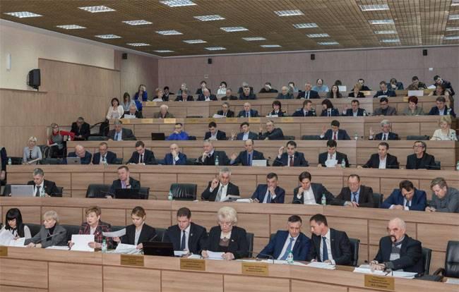 Российский флаг одобрен парламентом ПМР в качестве второго государственного