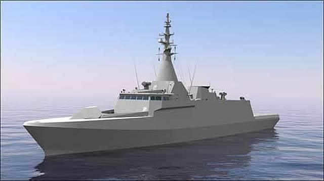 Na Malásia, colocou o segundo navio de patrulha SGPV-LCS