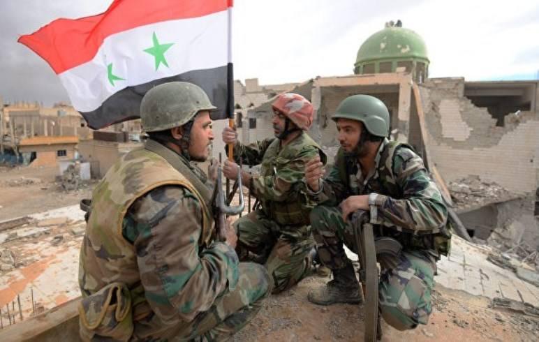 Сирийская армия находится в километре от центра Пальмиры