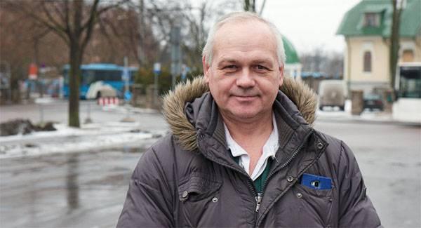 Уволенный за шутки над эстонским военным парадом С.Меньков требует компенсации через суд