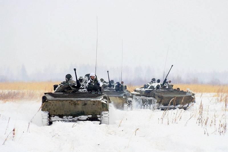 Cheque repentino para divisiones del Distrito Militar del Sur