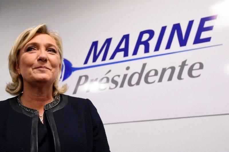 PE privado Marine Le Pen da imunidade parlamentar