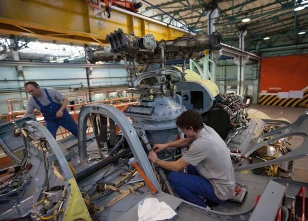 В Новосибирске ремонтируются 30 индийских Ми-17