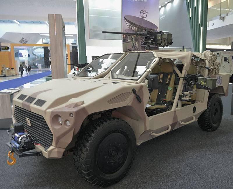 IDEX 2017: От эмиратского автомобиля сил быстрого реагирования до китайского танка