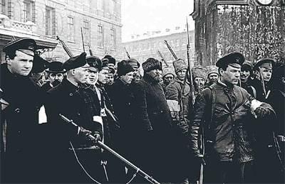 Майдан и «Беркут» февраля 1917 года