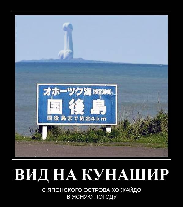 Трутнев пообещал развивать Курилы ибез Японии