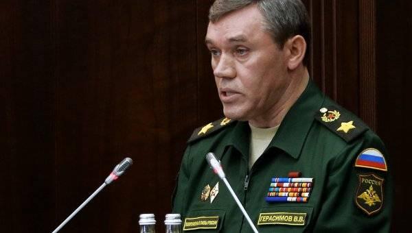 Первый контакт: Герасимов поговорил с руководителем военного комитета НАТО