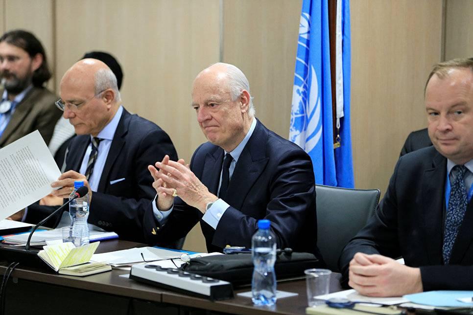 Переговоры поСирии вЖеневе могут продлиться до4марта— уполномоченный ООН