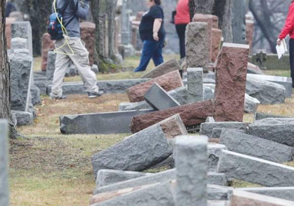 Вштате Нью-Йорк осквернено еврейское кладбище